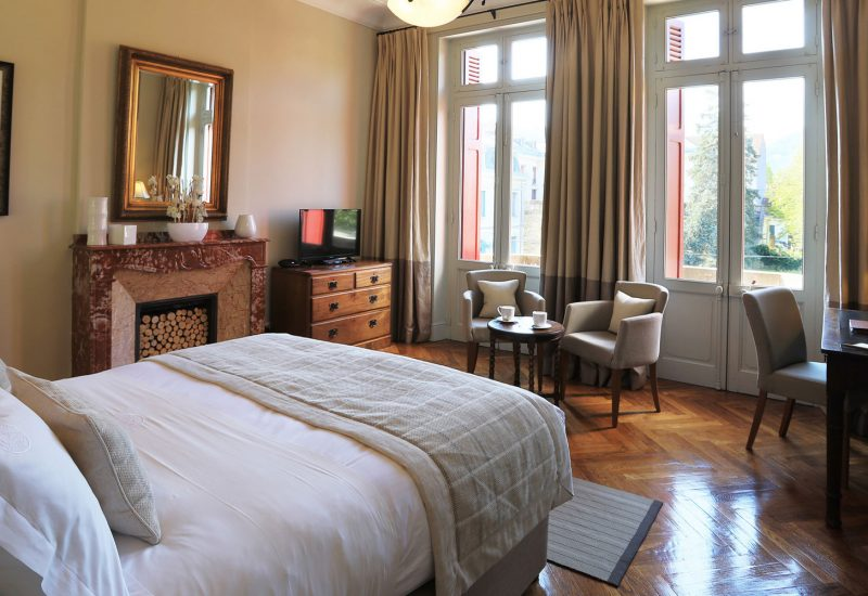 Chambre Superieure avec Balcon Chambres d'Hôtes Mazamet La Villa de Mazamet Chambres et Table d'hotes De Luxe