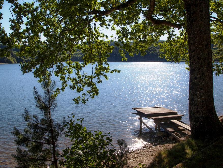 Le lac des Montagnes est à 10 minutes de la Villa de Mazamet