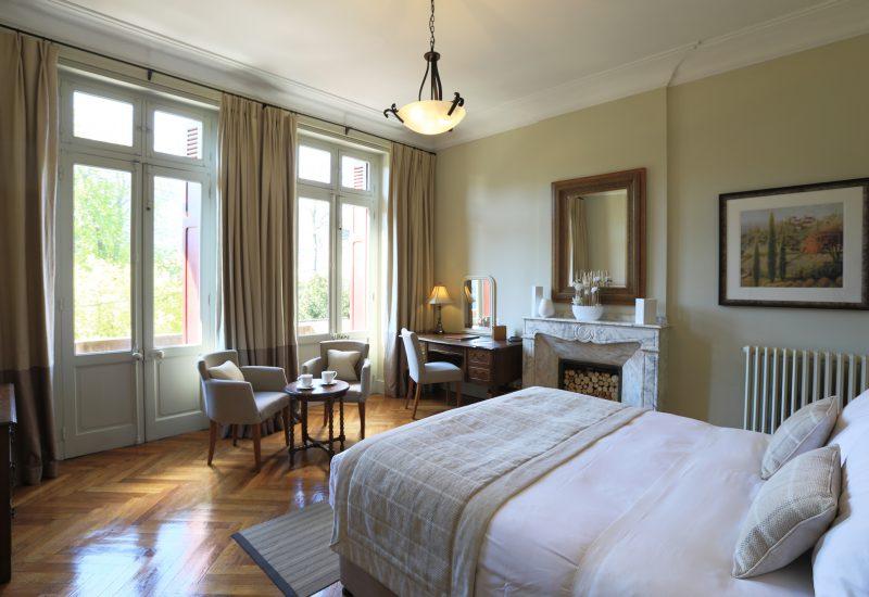 Superior Balcony Bedroom Window Chambres d'Hôtes Mazamet La Villa de Mazamet Luxury Bed and Breakfast SW France