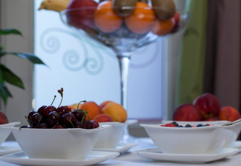Breakfast Fruits Chambres d'Hôtes Mazamet La Villa de Mazamet Luxury Bed and Breakfast SW France