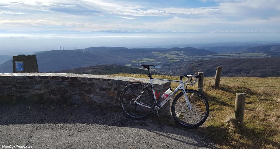 Pic de Nore à vélo