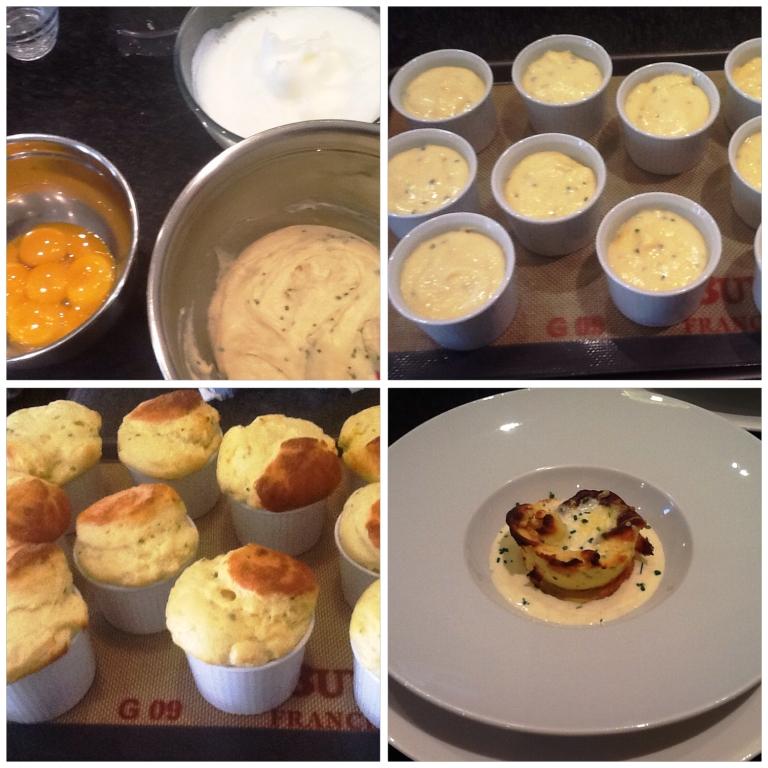 La Villa de Mazamet's twice baked souffle