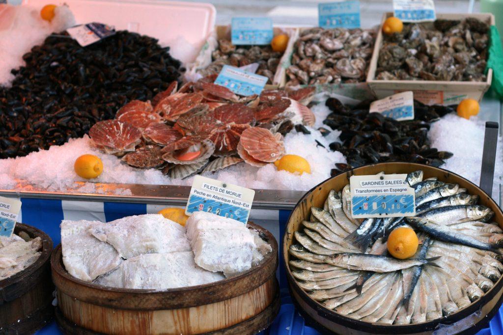 Fish Stall Mazamet Market