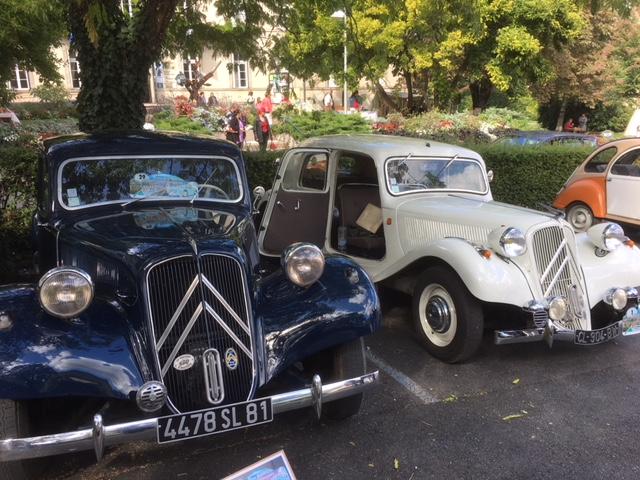 vintage car rally mazamet 2017