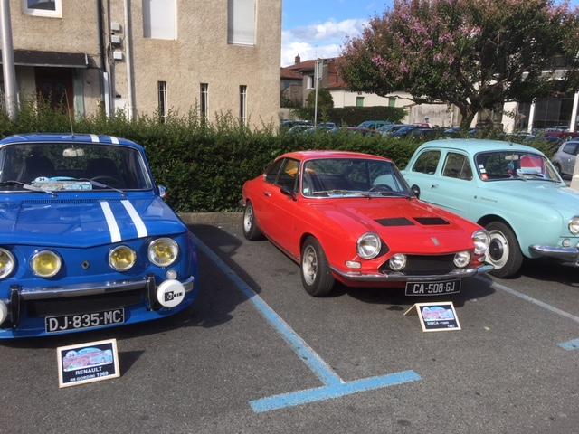 vintage car rallye mazamet 2017