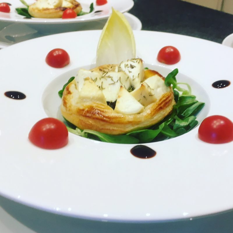 Goat Cheese Tartlet - La Villa de Mazamet