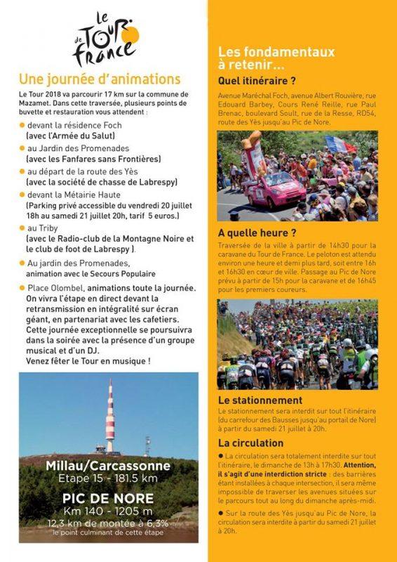 Le tour de France Mazamet 2018