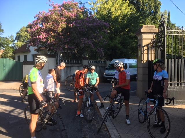 cycling at La Villa