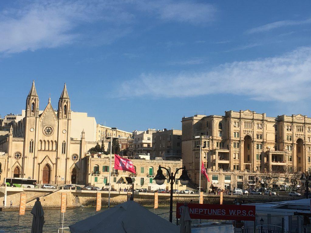 The Grand Harbour Malta