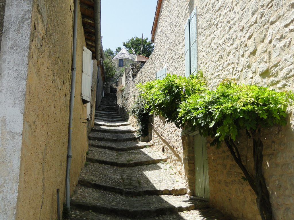 Steps to the Windmill Lautrec