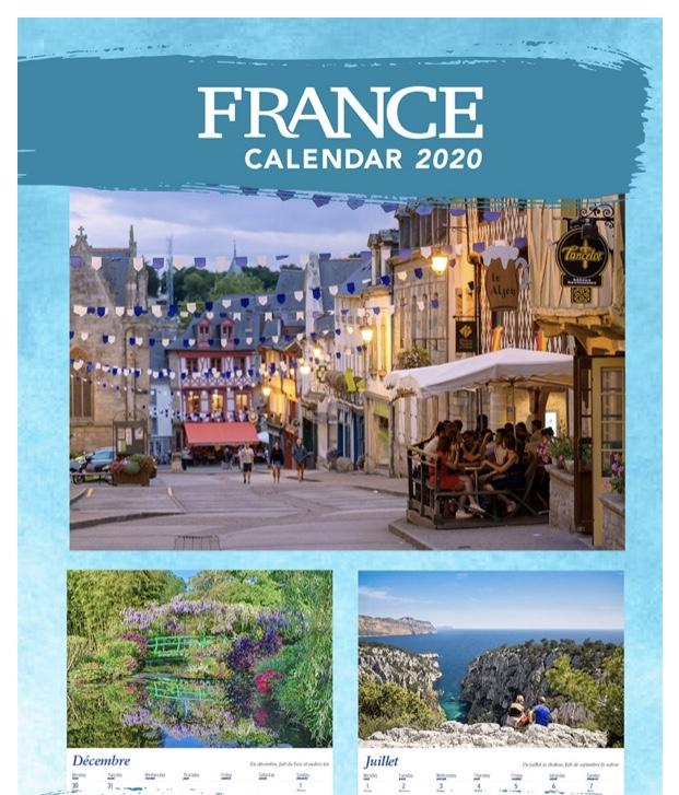 France Calendar 2020