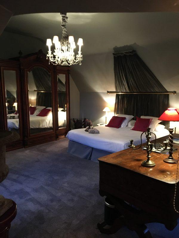 Bedroom at Chateau de Labro