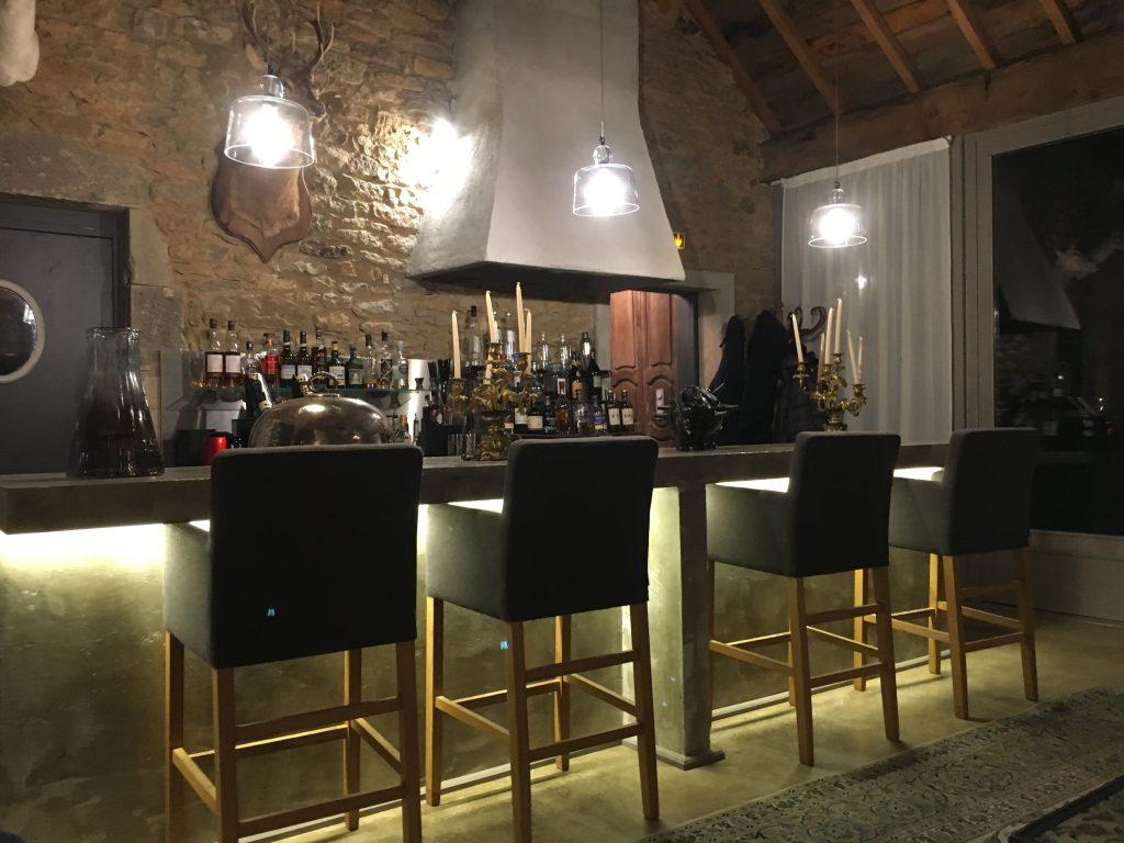 Piano Bar at Chateau de Labro