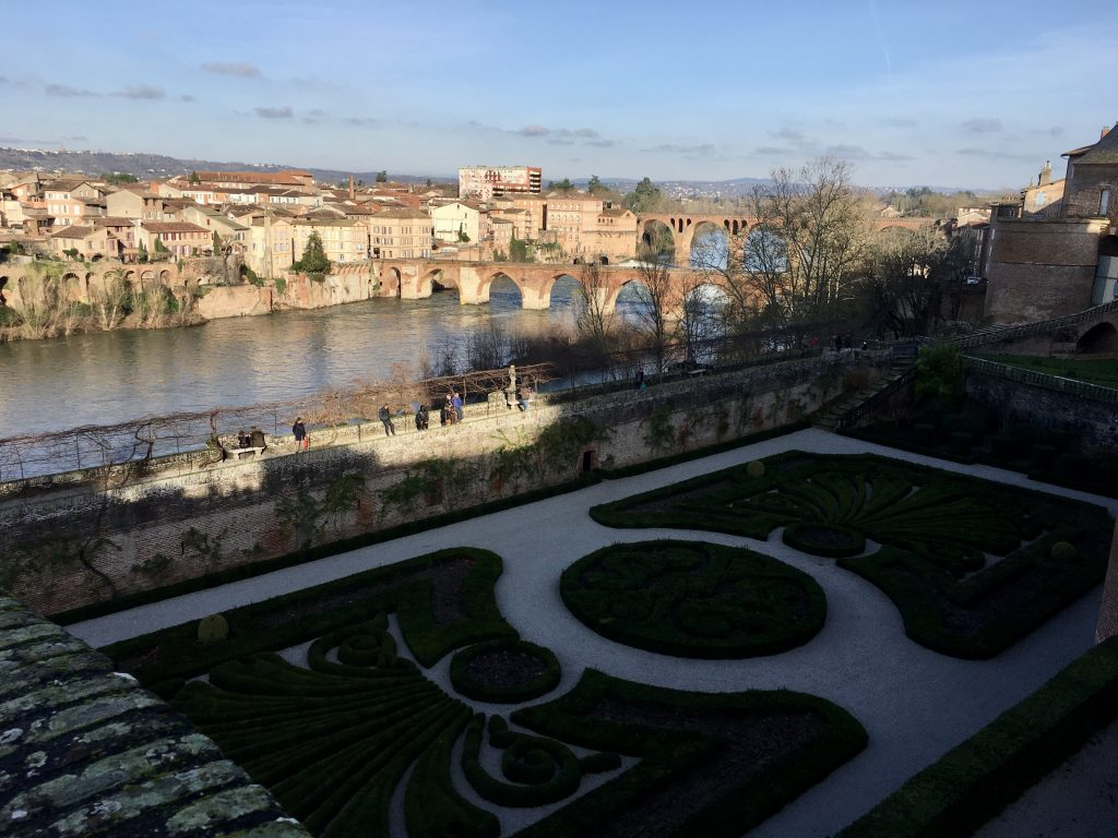 View of the River Tarn in Albi