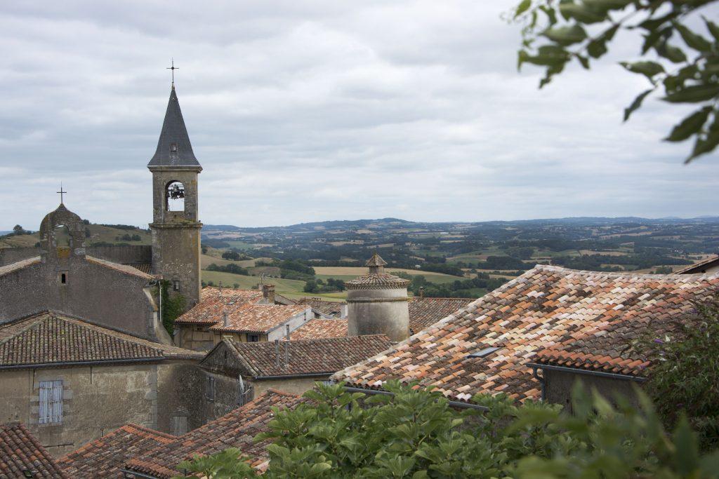 Autour de Mazamet - village médiéval de Lautrec